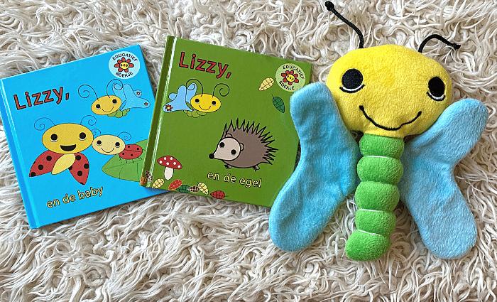 Lizzy de Vlinder kinderboeken, Lizzy de Vlinder boekjes, Lizzy de Vlinder knuffel, odiles giftshop, vlinder knuffel