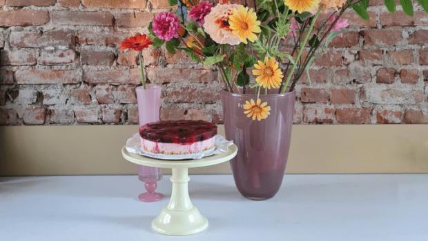 melamine taartplateau, jelly taart, tiktok trend jelly
