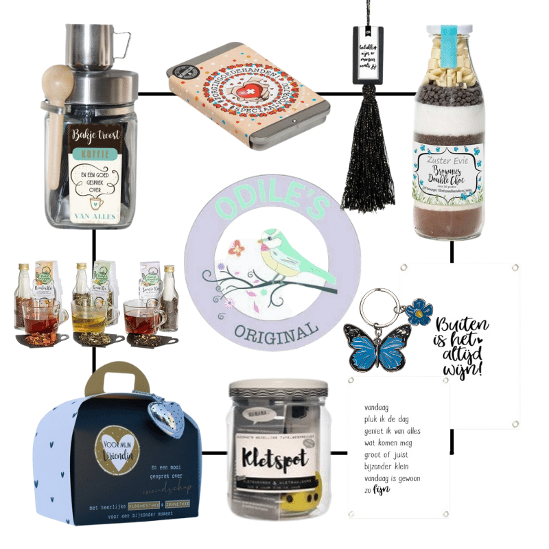 odiles giftshop, koffie en theewinkel in schalkhaar, online cadeauwinkel, online theewinkel, persoonlijke cadeautjes, odiles winkel