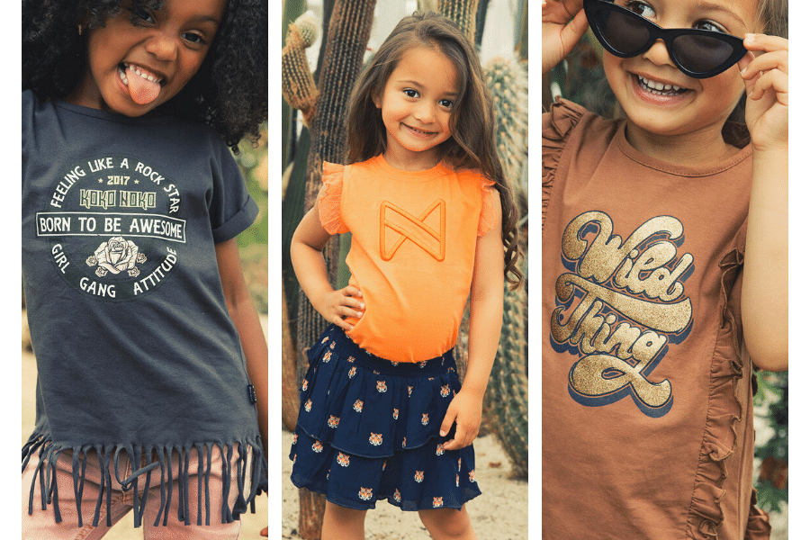 Koko Noko, Koko Noko meisjeskleding, kokonoko kinderkleding,  favoriete meisjesmerken, meisjeskledingmerk, meisjesmerk, girlslabel, meisjes kledingmerk