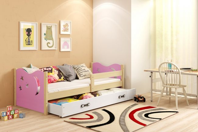 peuterbed, bed, kinderbed, wanneer is je kind toe aan een peuterbed, peuter, roze meisjesbed, roze peuterbed, perfecthomeshop