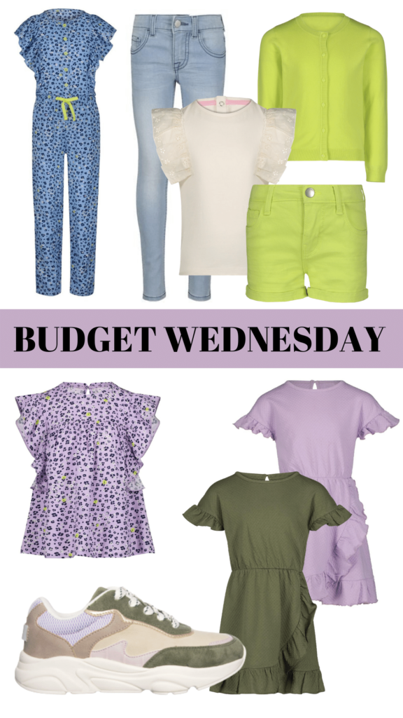 BUDGET WEDNESDAY, goedkope meisjeskleding, betaalbare meisjeskleding, budget kinderkleding