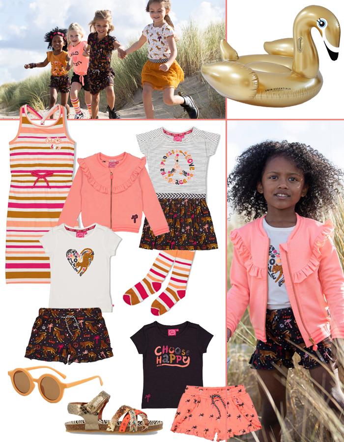 zomerkleding meisjes, zomerkleding voor meisjes, meisjeskleding, girlslabel, kinderkleding zomer 2021