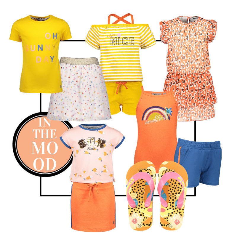 zomerkleding setjes voor meisjes, zomerkleding setjes, zomerkleding voor meisjes, vakantiekleding kind, moodstreet zomer 2021