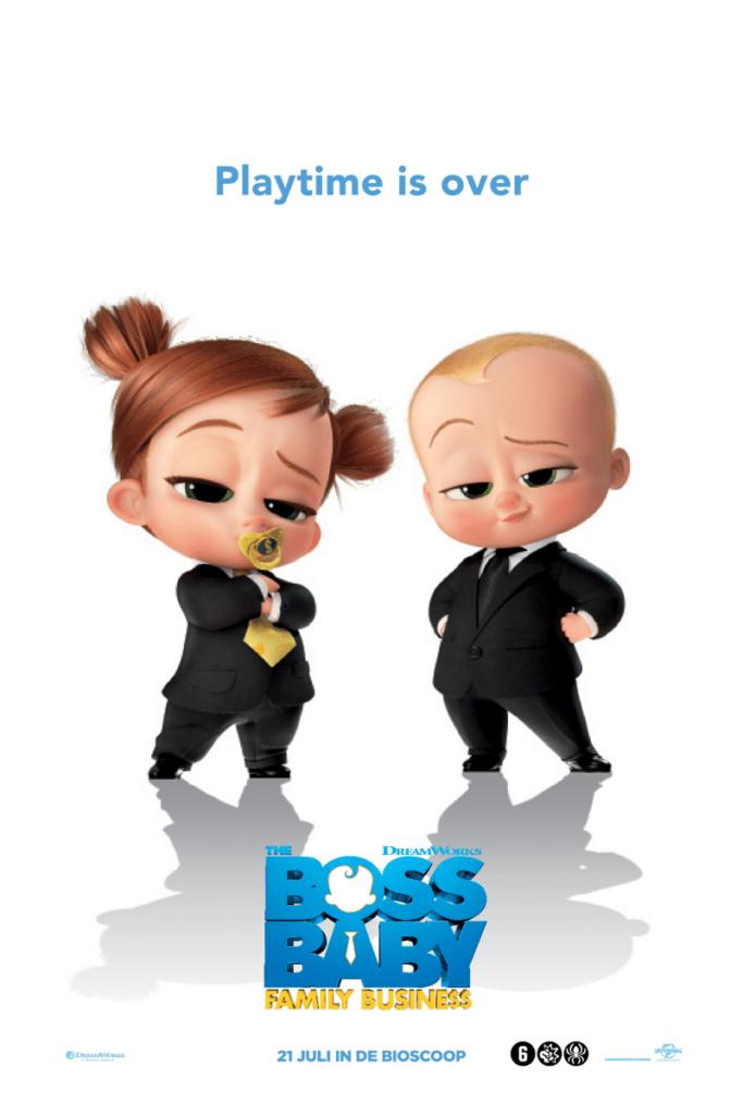 the boss baby family business, bioscoop release juli 2021, win bioscoopkaartjes