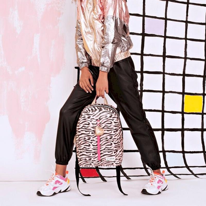 zebra trends tassen, meisjestassen, meisjes rugtas, rugtas met animalprint, rugtas zebraprint, rugtas dierenprint