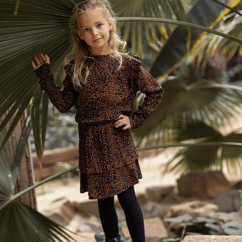 little miss juliette, winter 2021, meisjesjurkje