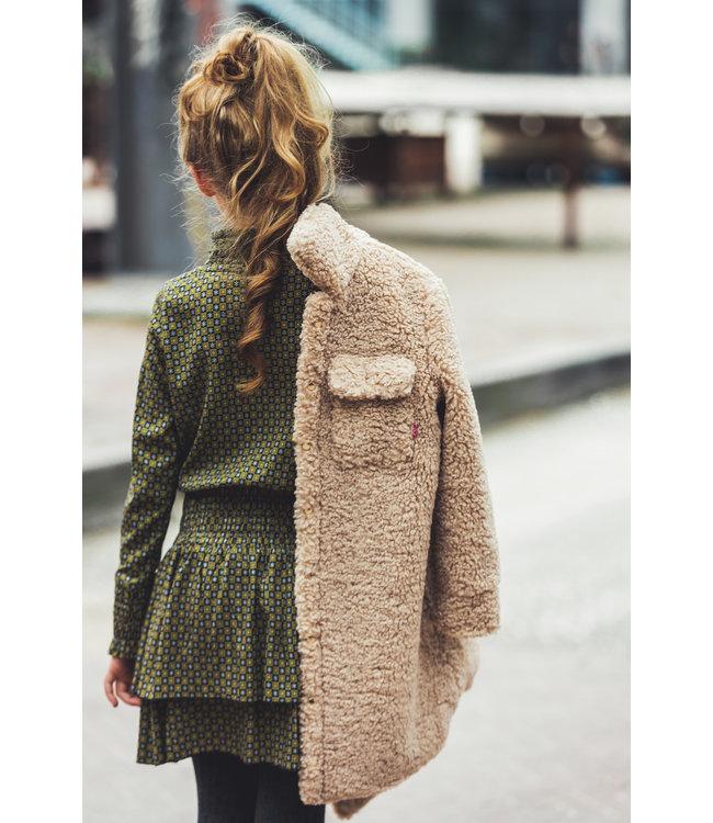 teddy jas, MAYCE winterjas, meisjeswinterjas, meisjes teddy jas, teddy jassen